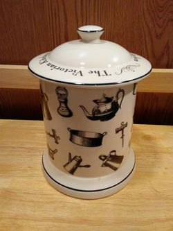 """""""The Victorian Kitchen"""" Porcelain Canister for Sale in West Springfield,  VA"""