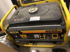 4050 wen generator for Sale in Burbank, IL