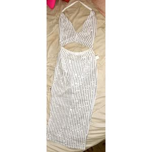 White Bodycon Dress (size L) for Sale in Fort Washington, MD