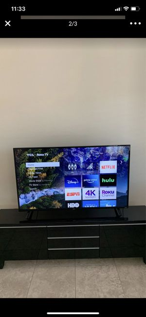 "TCL 55"" 4K UHD Dolby Vision HDR Roku Smart TV for Sale in Surprise, AZ"