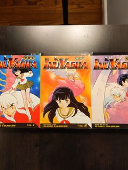 Inuyasha Vol. 1-3 for Sale in Madison Heights,  MI