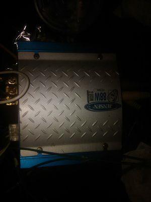 Jensen 88 watt car amplifier for Sale in Raymond, WA