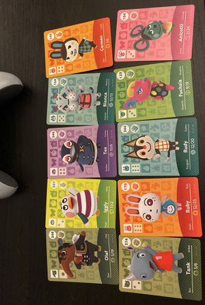Amiibo card for sell for Sale in Arlington, VA