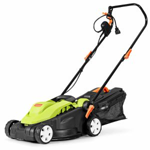 A10-8. 14-Inch 12Amp Lawn Mower w/Folding Handle Electric Push Lawn Corded Mower Green for Sale in City of Industry, CA