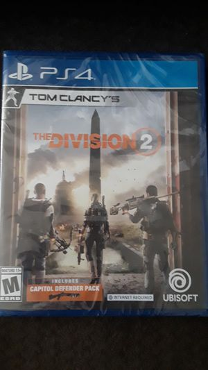 PS4 TOM CLANCY'S THE DIVISION 2 for Sale in Colton, CA