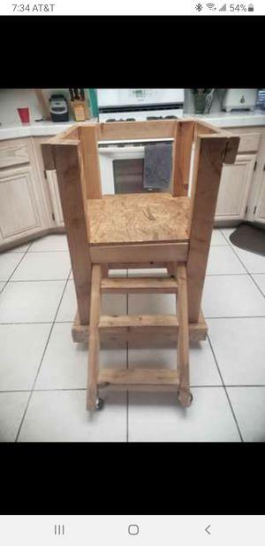 3 step stool/ kitchen helper platform for Sale in Murrieta, CA