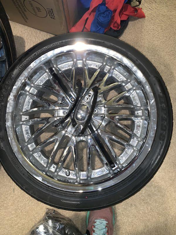 18 inch chrome rims
