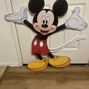 Mickey Costume And Poster for Sale in Santa Ana, CA