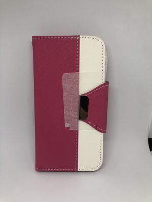For iPhone 6 6s (4.7) pink wallet case for Sale in San Mateo, CA