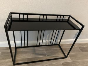 Brand new black console table for Sale in Fort Worth, TX