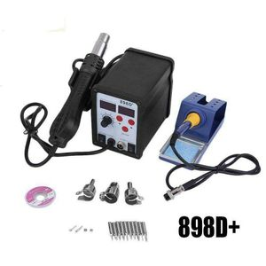 898D+ 2in1 SMD Rework Soldering Station Iron ESD Welder Desoldering Gun Hot 110V NEW for Sale in North Charleston, SC