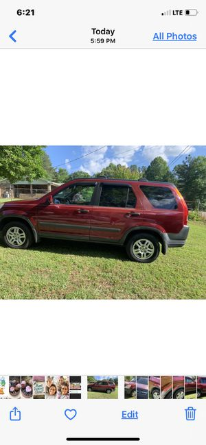 2002 Honda CR-V for Sale in Tallapoosa, GA