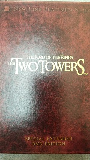 LORD OF THE RINGS DVD SPECIAL EDITION for Sale in Hanover Park, IL