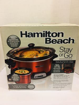 New! Slow Cooker and Includes Party Dipper Food Warmer for Sale in Las Vegas, NV