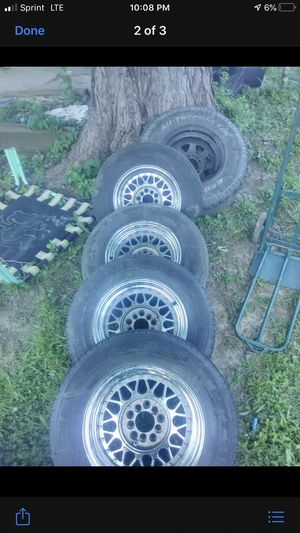 Universal 5 lug rims for sale or trade for rims for Sale in Kansas City, KS