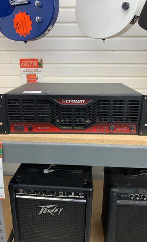 Crown Amplifier for Sale in Houston, TX
