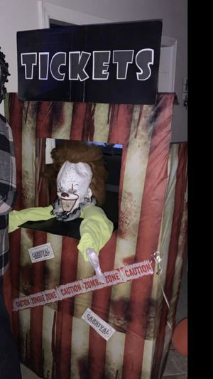 Halloween carnival ticket booth for Sale in Riverside, CA