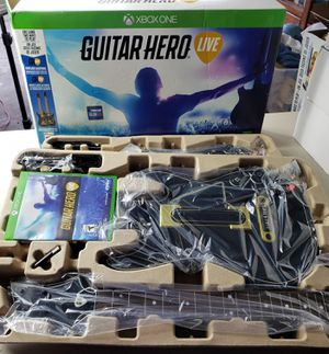 Guitar hero live xbox one 2 pack for Sale in Riverside, CA