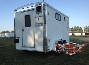 Fiber Optic Trailer 7 x 12 / Enclosed Trailer/ Tandem Axle for Sale in Miami, FL