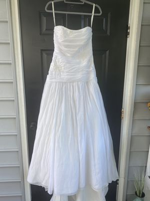 David's bridal wedding gown. Size 10 for Sale in Mechanicsville, VA