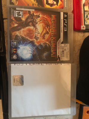 Mortal Kombat 9 PS3 komplete edition and mortal kombat dc universe for Sale in Dallas, TX