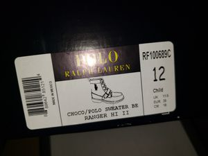 Polo Ranger Boots Kids Size 12 for Sale in Lithonia, GA