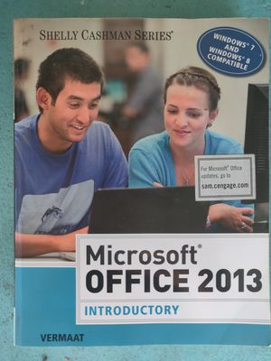 Microsoft Office 2013 Textbook for Sale in Santa Ana, CA