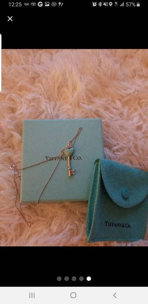 Tiffany & Co blue heart necklace for Sale in Roseville, CA