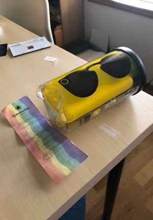 Brand New Snapchat Spectacles WITH RECEPT for Sale in Mukilteo, WA