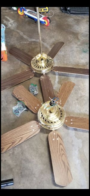 2 ceiling fans for Sale in Ashburn, VA