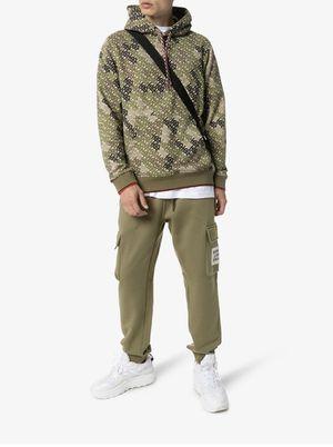 Burberry logo pants khaki size S men for Sale in Costa Mesa, CA