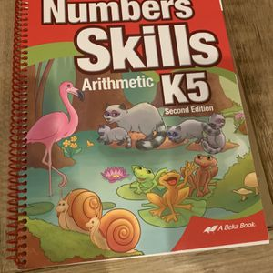 Abeka K5 Teachers Key Book for Sale in Beverly Hills, CA