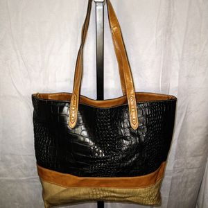 Tricolored Black & Brown Bag for Sale in Duluth, GA