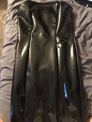 Leather Black Dress Small for Sale in Carol Stream, IL