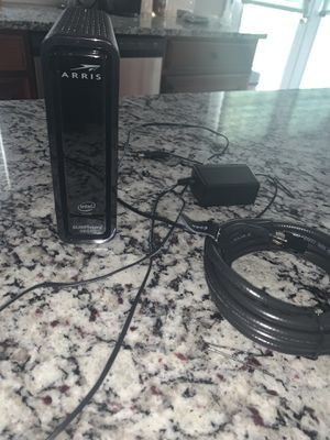 ARRIS SURFboard SBG10 DOCSIS 3.0 Cable Modem & AC1600 Dual Band Wi-Fi Router for Sale in Villa Rica, GA