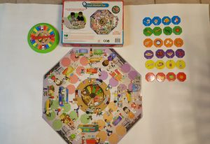 EDUCATIONAL Food Market Fun PUZZLES BOARD GAME for Sale in Broken Arrow, OK