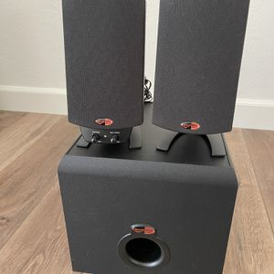 Klipsch Pro Media 2.1 Computer/Bookshelf Speakers for Sale in Alamo, CA