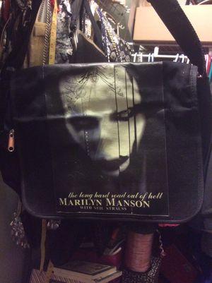 Marilyn Manson messenger bag for Sale in Hemet, CA