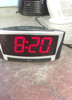 Large display alarm clock for Sale in West Orange, NJ