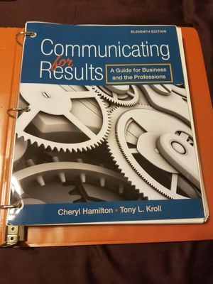 Communicating for results 11th edition for Sale in West Covina, CA