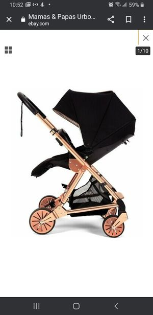 Mamas & Papas Urbo2 Stroller - Black Rose Gold Limited Edition for Sale in Queens, NY