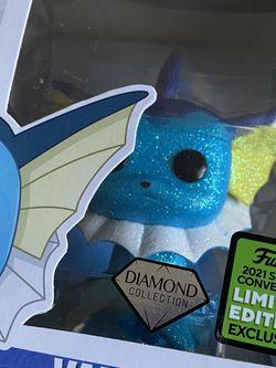 Vaporeon Diamond 2021 Spring Con Exclusive for Sale in Jacksonville,  FL
