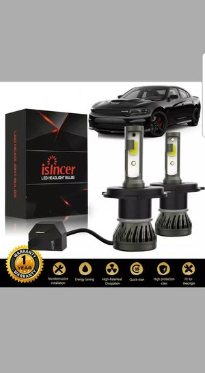 2xLED Car led headlights kit leds H4 H7 H8 H9 H9 H11 H10 9003 9004 9005/HB3 9006/HB4 9007 9008 H13 All size in stock Pick up with your car inf for Sale in San Diego, CA