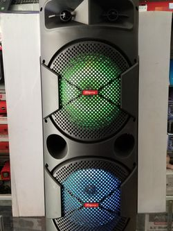 TALL AND TOWER BLUETOOTH KARAOKE PARTY SPEAKER WITH MICROPHONE. ASK ME FOR WHOLESALE PRICE for Sale in Los Angeles,  CA
