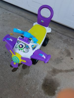 Buzz light Airplane toy for Sale in Fresno, CA