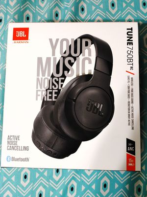 JBL Tune 750BT Wireless Bluetooth - Noise Cancelling Headphones for Sale in San Antonio, TX