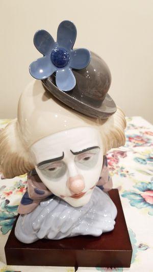 Lladro sad boy clown for Sale in West McLean, VA