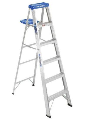 Werner 6 ft Aluminum step ladder for Sale in Oakland, CA