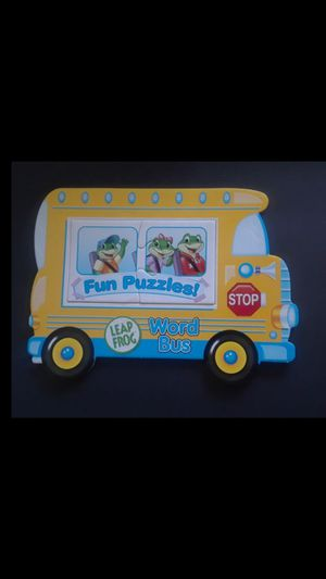 LEAP FROG• word whiz learning bus for Sale in Milpitas, CA