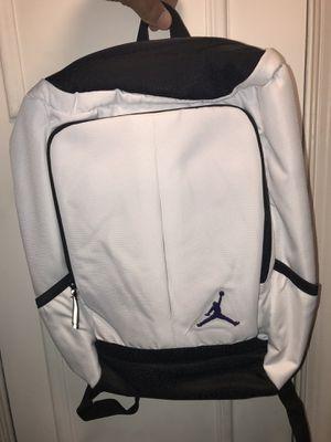 Air Jordan White Backpack New 🎒 Jumpman for Sale in Alexandria, VA